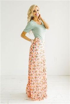 084b35a347 84 Maxi Skirt Outfits That You Should Know