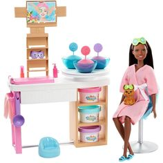 Mattel Barbie, Barbie Shop, Barbie Van, Barbies Dolls, Barbie Life, Barbie Dream House, Puppy Face, Pet Puppy, Barbie Shelly