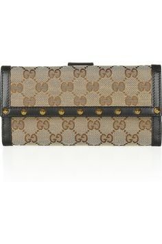 f073654d792 Gucci - Canvas and leather wallet