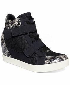 G by GUESS Women's Powpoww Wedge Sneakers - Sneakers - Shoes - Macy's