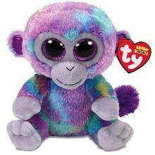 7a9039210d1 Ty Beanie Boos Stuffed  amp  Plush Animals Purple Monkey Toy 6