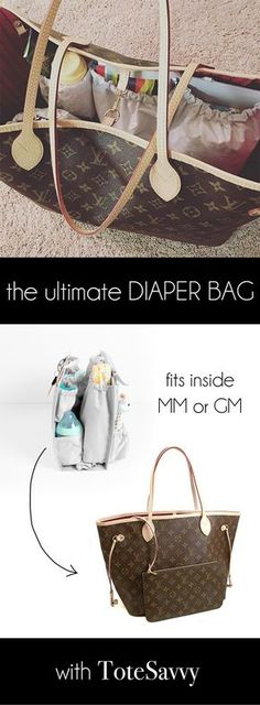 Get the ultimate diaper bag with ToteSavvy - the organizer insert that turns your fav tote into a baby bag. Use code PINTEREST for $15 off at www.lifeinplaycompany.com