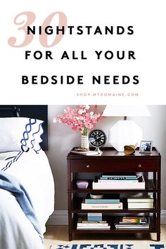 Bedside tables are multipurpose: They at once need to set the tone for relaxation, house all our nightly essentials, and look pretty. Here are our favorite nightstand essentials.