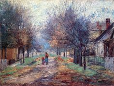 John Ottis Adams (1851-1927) American Impressionist Painter ~ Blog ...