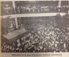 Opening of Madison Square Mall 1984