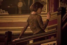 James Bond - Skyfall: Severine dragon dress