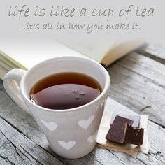 Chocolate pairs with tea famously! The art of pairing tea with chocolate, amplifying the flavor of one with another is simply elegant. White Chocolate, New Product, Valentines Day, Tea Cups, Milk, Pairs, Canning, Elegant, Tableware