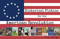 Historical Fiction for the American Revolution includes information about the American Revolution as well as a list of books to enjoy for this time period. It is a good way to teach about the American Revolution. Teaching American History, American History Lessons, Teaching History, African American History, History Education, Teaching Resources, American Revolution For Kids, American Revolution Timeline, Historical Fiction Novels