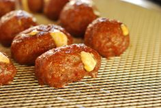 Sea Turtle Eggs - (great for bbq, barbecues, grilling, tailgating, football food)  Ingredients:   1 lb Jimmy Dean Sage Breakfast Sausage, cut into 10-11 slices  1/2 cup cream cheese*  1/2 cup shredded colby-jack cheese*  2 jalapeno chile, de-seeded and finely diced  1 1/2 tsp Draper's AP rub or your favorite BBQ rub (divided)