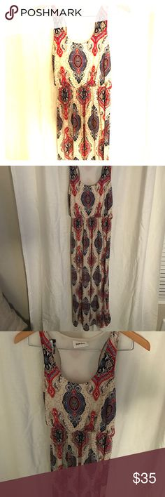 Boho Printed Maxi Dress Size Small I am selling a gently used beautiful boho print maxi dress made by 'Style Rock' it is a size small and 100% polyester. This dress is a must for Spring right around the corner! Pair with a pair of wedges and a sun hat for the perfect look! Style Rock Dresses Maxi