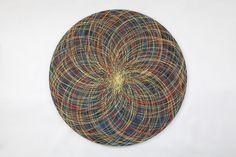 "Emin Özdemir — ""3 rotational oscillation"" acrylic paint, 110 cm... Fractals, Mandala, Digital Art, Painting, Art, Painting Art, Paintings, Painted Canvas, Mandalas"