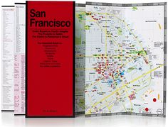 San Francisco - Red Maps