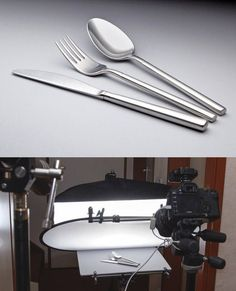 Silverware product photography By Eric Dankbaar