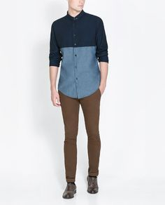 Image 6 of CHINOS WITH BELT from Zara
