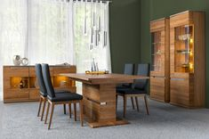Purchase Table Dining Room Kitchen Furniture Dinner Room Decoration Wooden Dining Room Table And 6 Chairs Coastal Furniture, Bar Furniture, Shabby Chic Furniture, Furniture Deals, Dining Room Furniture, Door Displays, Dining Room Bar, Side Door, Bars For Home