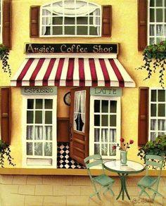 Angie's Coffee Shop (Catherine Holman)