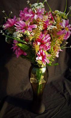Wild Flower Bush Pink Flora 57cm - Irish Plants Direct