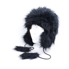 Women Faux Fur Trapper Style Winter Hat Charcoal Black One Size Fits Most NWT #Simi #AviatorTrapper #Everyday Ski Hats, Charcoal Black, Barber, Faux Fur, Winter Fashion, Winter Hats, Money, Style, Winter Fashion Looks