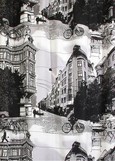NetAnttila - Vallila Bulevardi sivuverho 1x140x240 cm | Verhot ja kankaat -harmaa