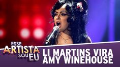 Li Martins como Amy Winehouse - Esse Artista Sou Eu (25/08/14) - Your Fa...