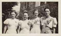 Bentley Irene Munselle Stevens (2nd from left)