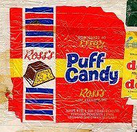 Ross's Puff Candy was part of my childhood was it part of yours. Old Sweets, Vintage Sweets, Retro Sweets, Retro Food, 1970s Childhood, My Childhood Memories, Childhood Toys, Retro Recipes, Vintage Recipes