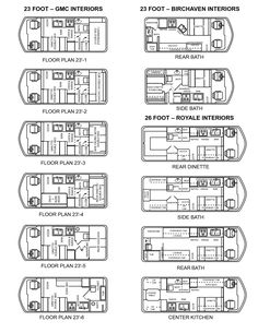 Gmc Motorhome Floor Plans - A house is built with hands, however a dwelling is built with hearts - so the old saying goes. Motorhome Interior, Gmc Motorhome, Food Truck Interior, Food Cart Design, Food Truck Design, Food Truck Business, Bakery Business, Food Trucks, Food Truck Menu