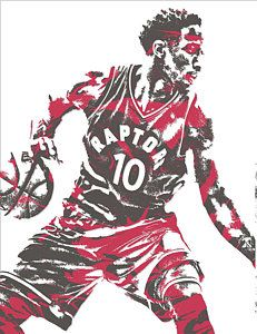DeMar DeRozan TORONTO RAPTORS PIXEL ART 6 Art Print by Joe Hamilton. All prints are professionally printed, packaged, and shipped within 3 - 4 business days. Choose from multiple sizes and hundreds of frame and mat options. Raptors Wallpaper, Joe Hamilton, Nba Pictures, Basketball Posters, Thing 1, Russell Westbrook, Toronto Raptors, Oklahoma City Thunder, Nba Players