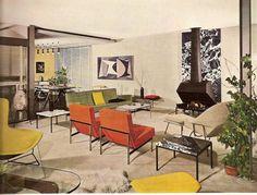1961 September - Wohnraum