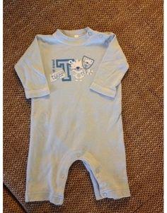 Schlafanzug hellblau ohne Füße