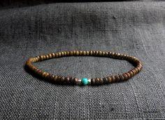 Bone Faceted Fine Silver Chrysocolla Bracelet / by Bracelets For Men, Beaded Bracelets, Horns, Turquoise Bracelet, Brass, Gemstones, Sterling Silver, Trending Outfits, Unique Jewelry