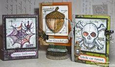 images tim holtz blueprint mini 3 | ... Cards by Richele Christensen using Tim Holtz Stamps. Stamptember 2013