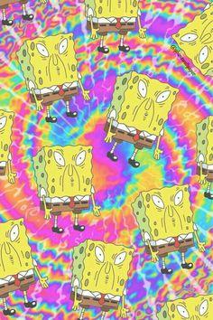 wallpaper, spongebob, and background image Hippie Wallpaper, Trippy Wallpaper, Mood Wallpaper, Tumblr Wallpaper, Aesthetic Iphone Wallpaper, Aesthetic Wallpapers, Wallpaper Backgrounds, Disney Phone Backgrounds, Cartoon Wallpaper