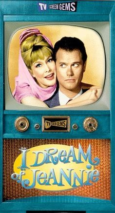 I DREAM OF JEANNIE (1965 - 1970) ... starring Barbara Eden as Jeannie and Larry Hagman as Major Tony Nelson