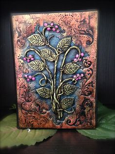 Polymer Clay Journal by LunaBlueGifts on Etsy
