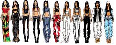 dinos-sy: The Evolution of Aaliyah - by Jerron Couture Rock The Boat We Need A Resolution More Than A Woman Try Again Are You That Somebody? Hot Like Fire One In A Million 4 Page Letter If Your Girl Only Knew Age Ain't Nothing But A Number Back And Forth