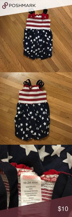 🇺🇸Memorial Day🇺🇸Gymboree romper One piece Gymboree romper Gymboree One Pieces
