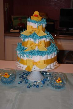 Rubber Ducks Baby Shower Party Ideas | Photo 4 of 22 | Catch My Party