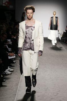 Accademia di Costume e di Moda Talents 2014 Giulia Goretti De'Flamini   WEISS #fashion #menswear #white #neoprene #wool #print
