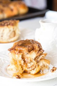 Fluffy, soft cinnamon rolls soaked in delicious butterscotch caramel. Nothing is better than these caramel rolls in the morning! Besides coffee, of course.