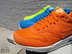 Nike Air Max 1 Atomic Green, Dynamic Blue, & Mandarin. Need all 3.