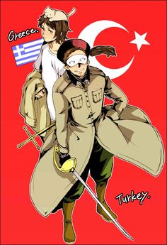 Hetalia - Greece/Turkey