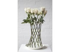 The Crown Vase is a circular flower holder that arranges rigid-stemmed flowers into a beautiful free-standing structure. Add a smaller arrangement and/or a tea light. Beautiful Flower Arrangements, Fresh Flowers, Floral Arrangements, Beautiful Flowers, Nice Flower, Flower Ideas, Silk Flowers, Beautiful Pictures, Deco Floral