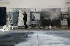 Ørnulf Opdahl - kunst til salgs, bilder, biografi og CV Atelier Creation, My Art Studio, Dream Art, Large Art, Sculpture, Art Studios, Artist At Work, Contemporary Artists, Landscape Paintings