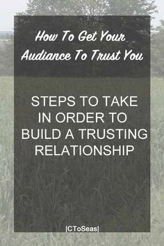 """If you have the goal of being an influencer you need to build an audience that trusts you. This seems incredibly complex, but in reality, it is very straight-forward. Tip #1 Always Tell The Truth. The easiest way to earn distrust if to not tell the truth. This is not just lying. This is leaving … Continue reading """"How to Get Your Audience to Trust You."""""""
