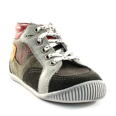 088A BABYBOTTE FLIPPER KAKI www.ouistiti.shoes le spécialiste internet de la chaussure bébé, enfant, junior et femme collection automne hiver 2015 2016