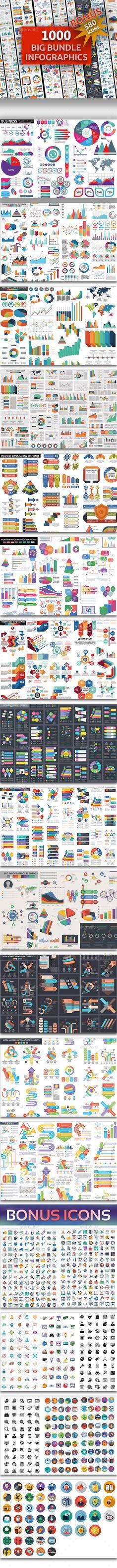#Big #Bundle Infographics Elements - #Infographics Download here: https://graphicriver.net/item/big-bundle-infographics-elements/20337335?ref=alena994