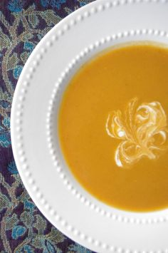 Creamy Vegan Pumpkin & Sweet Potato Soup and A Fall Farm Visit | Nutritionist in the Kitch