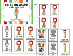 The circus is always a fun theme for your classroom, especially for the littlest ones.