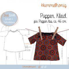 free pattern - Puppen Kleid